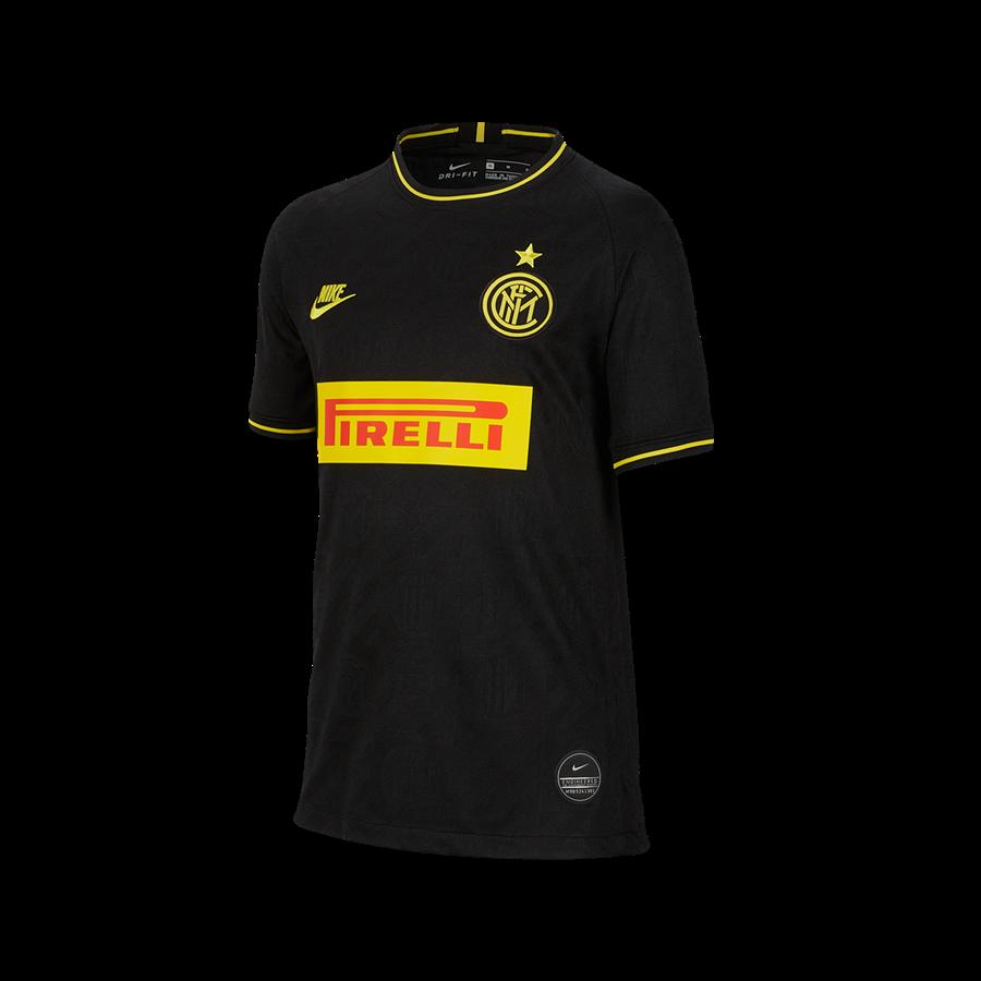 Nike Inter Mailand Kinder Champions League Trikot 2019/20 schwarz/gelb Bild 2