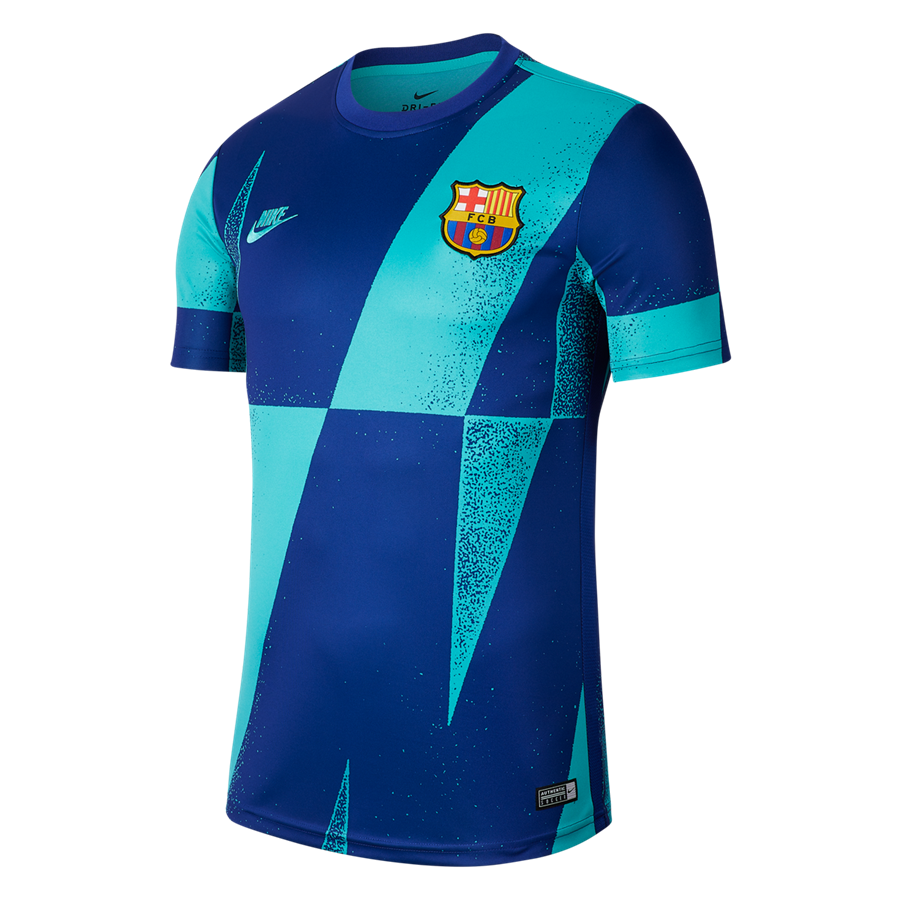Nike FC Barcelona warming-up Pre Match CL turqouise/blauw Afbeelding 2