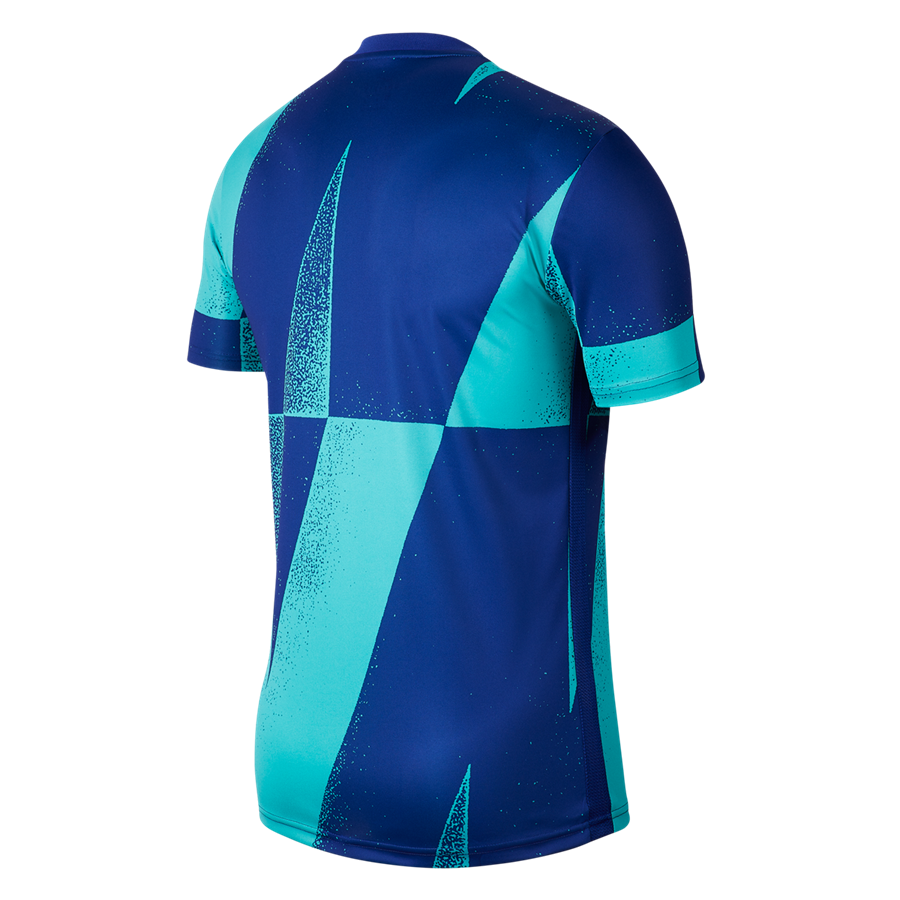 Nike FC Barcelona warming-up Pre Match CL turqouise/blauw Afbeelding 3