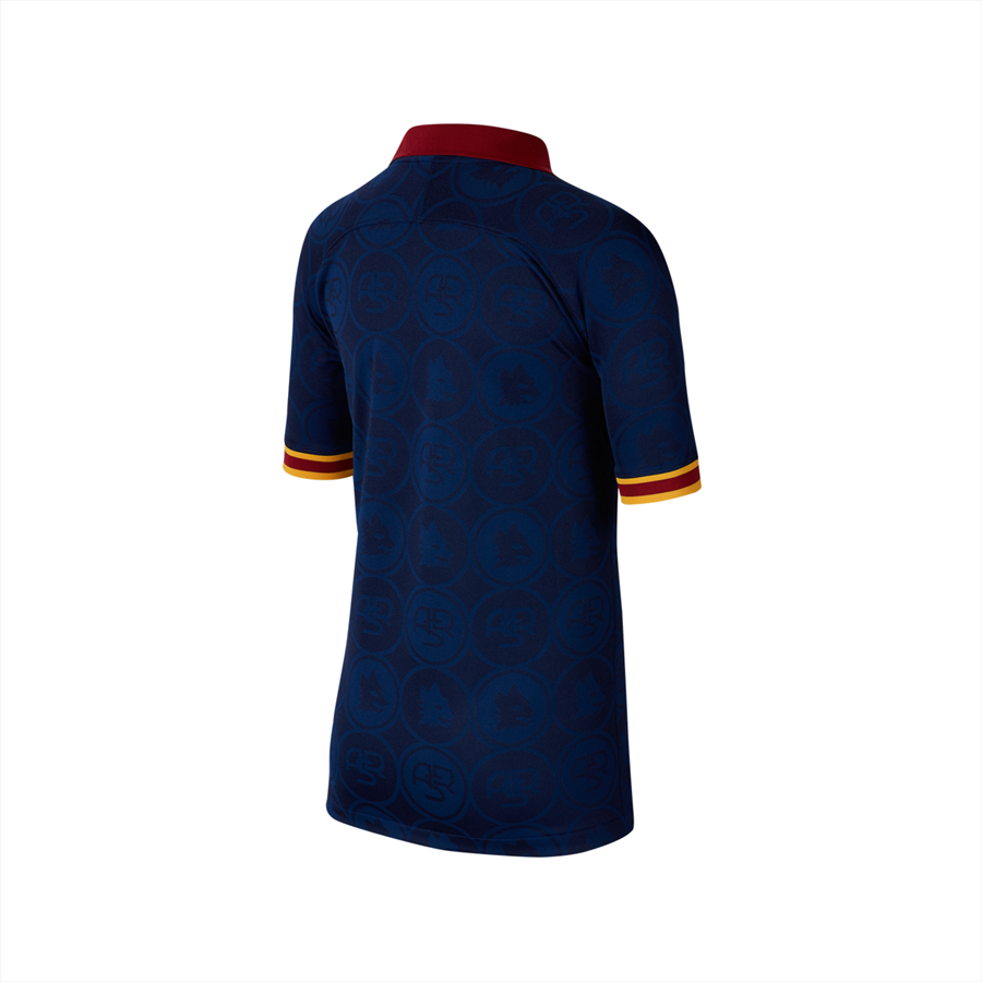 Nike AS Roma Kinder Champions League Trikot 2019/20 blau/gold Bild 3