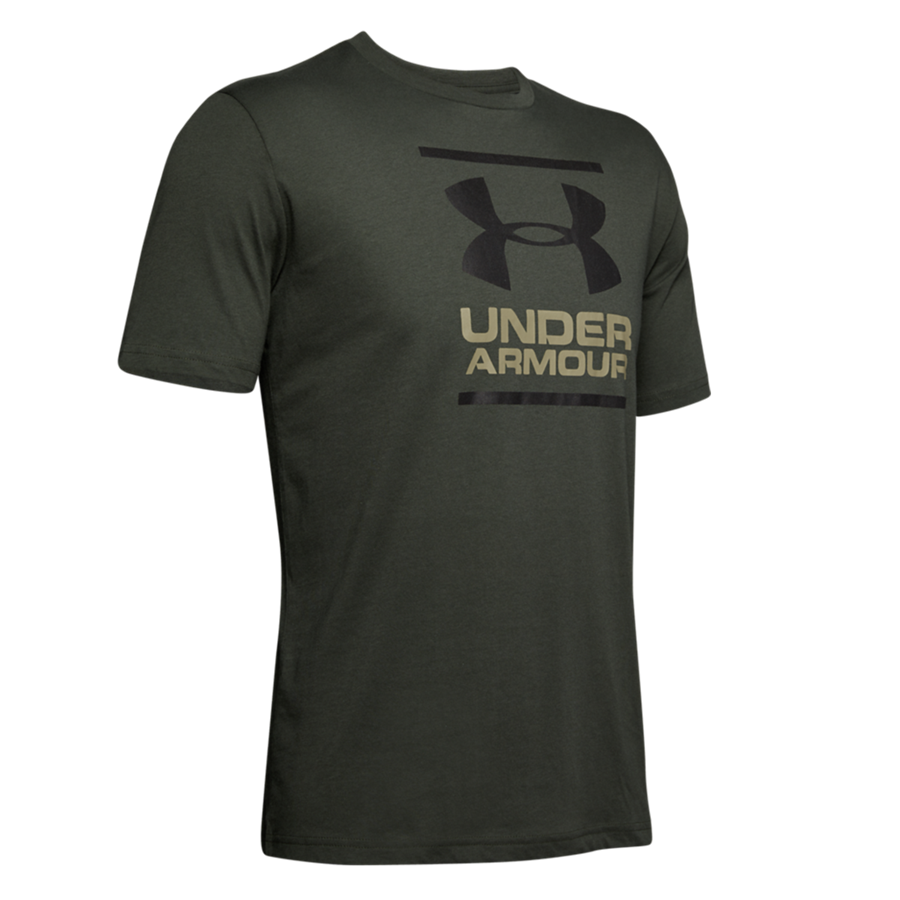 Under Armour Shirt GL Foundation dunkelgrün/schwarz Bild 2