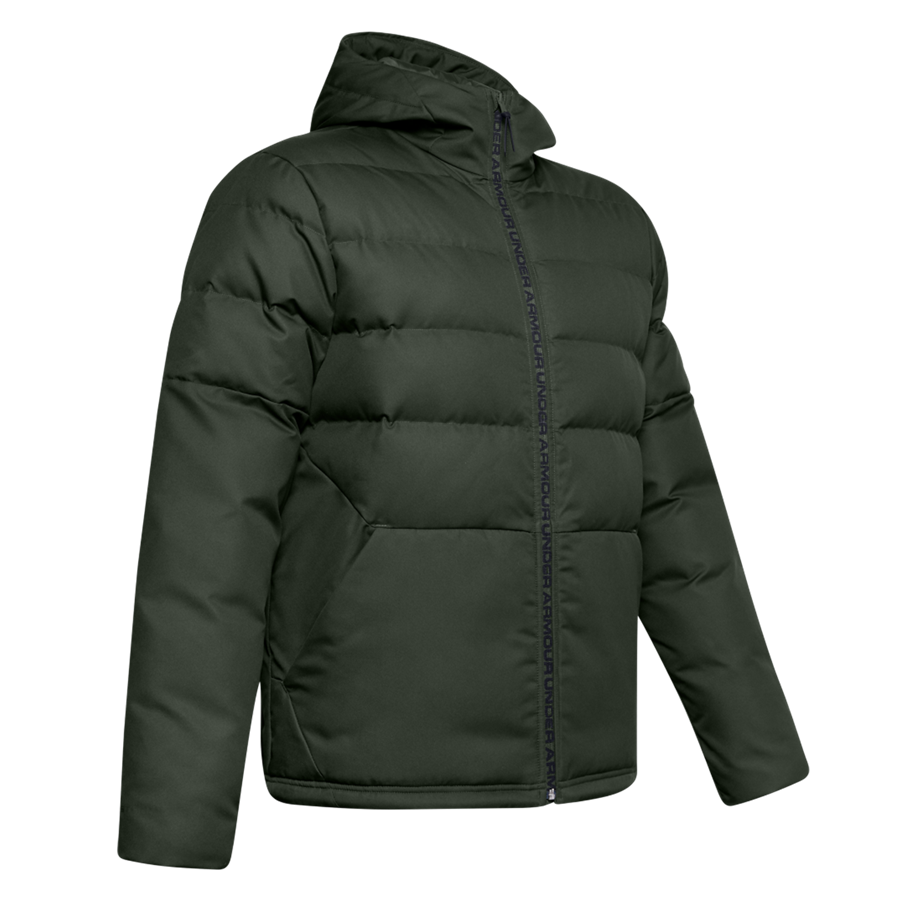 Under Armour Daunenjacke Sportstyle Hooded Down Jacket dunkelgrün/schwarz Bild 2