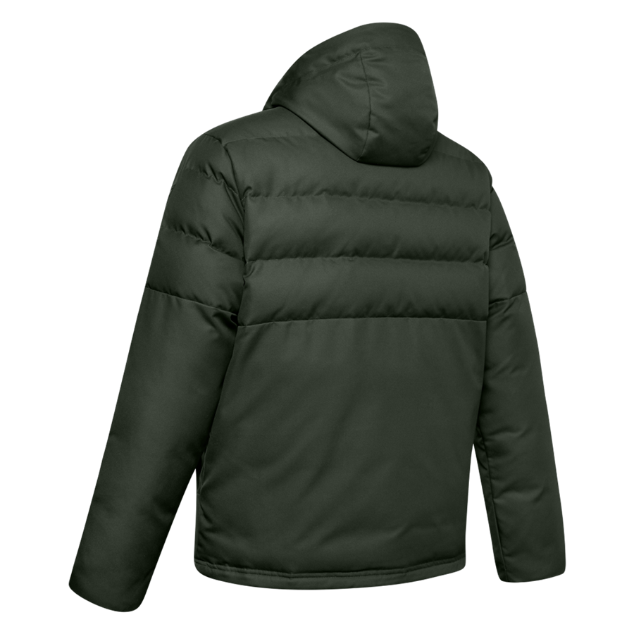 Under Armour Daunenjacke Sportstyle Hooded Down Jacket dunkelgrün/schwarz
