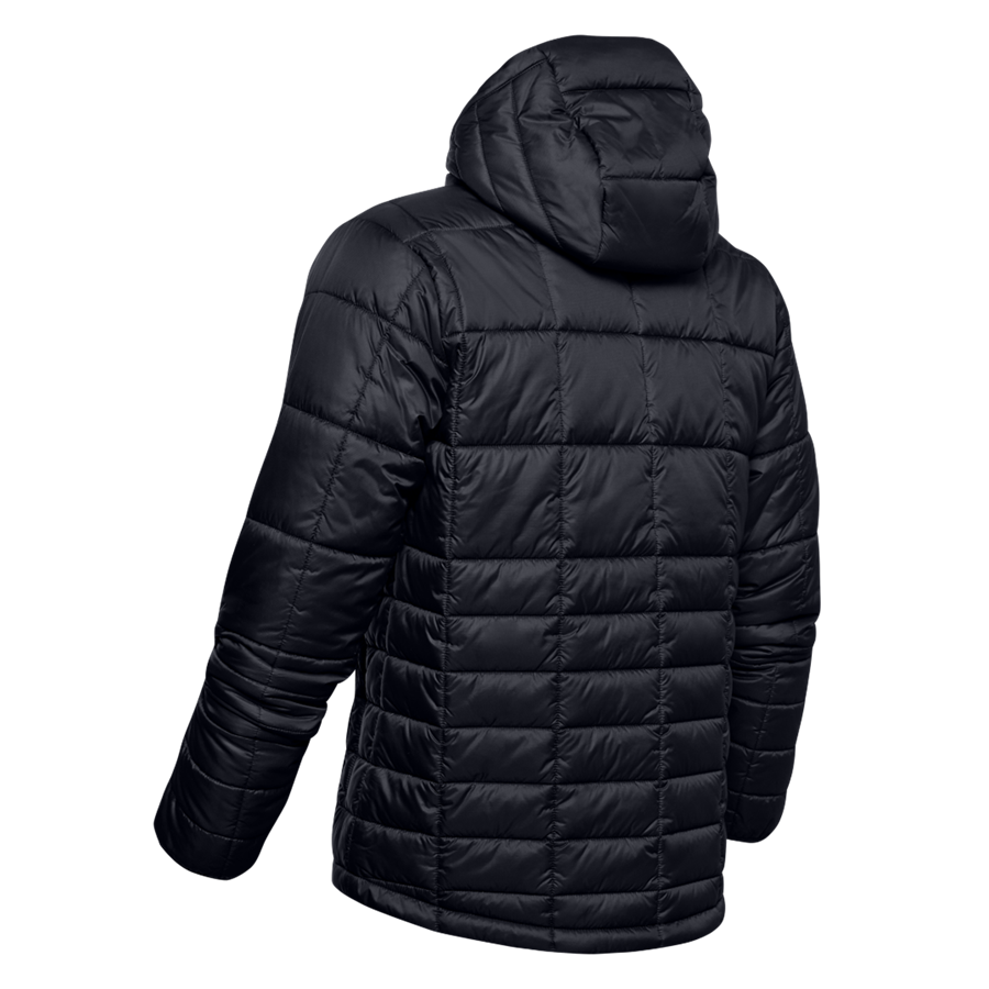 Under Armour Winterjacke Thermo Insulated Hooded Jacket schwarz/grau