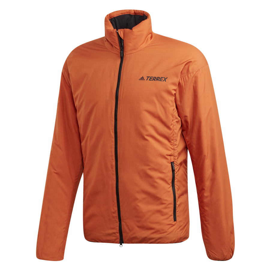adidas Outdoorjacke Terrex insulated Jacket orange/schwarz Bild 2