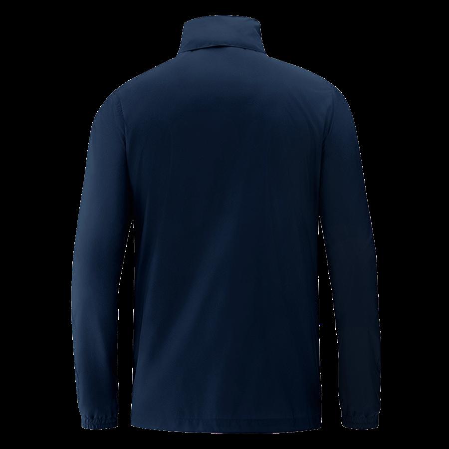 Jako Allwetterjacke Team dunkelblau/weiß Bild 3