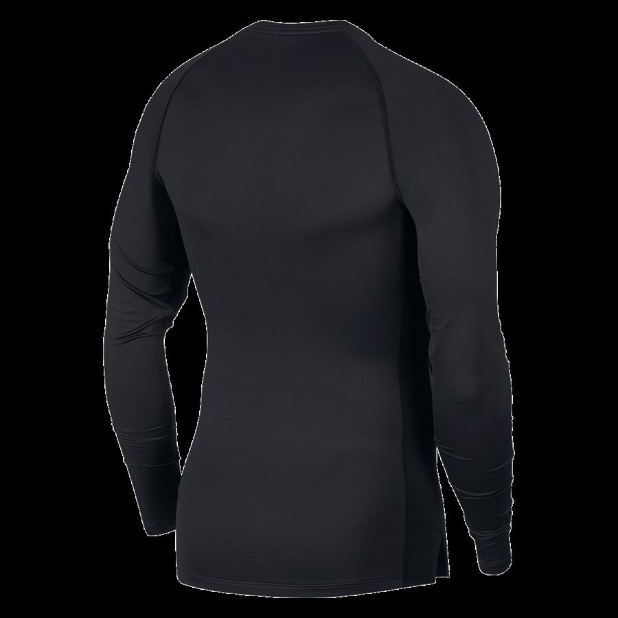 Nike Funktionsshirt Longsleeve Pro Compression Top schwarz/weiß Bild 3