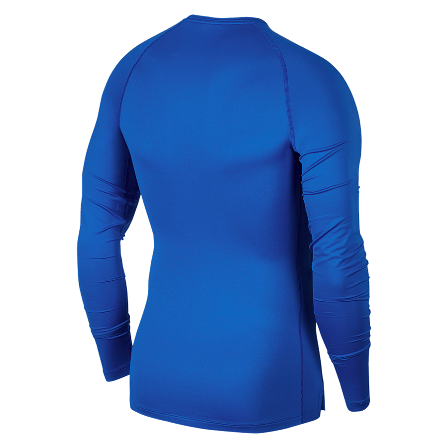 Nike Funktionsshirt Longsleeve Pro Compression Top blau/schwarz Bild 3