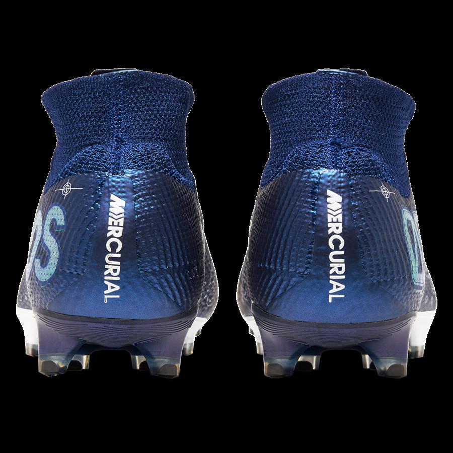 Nike Fußballschuh Mercurial Superfly VII Elite MDS FG dunkelblau/weiß Bild 7