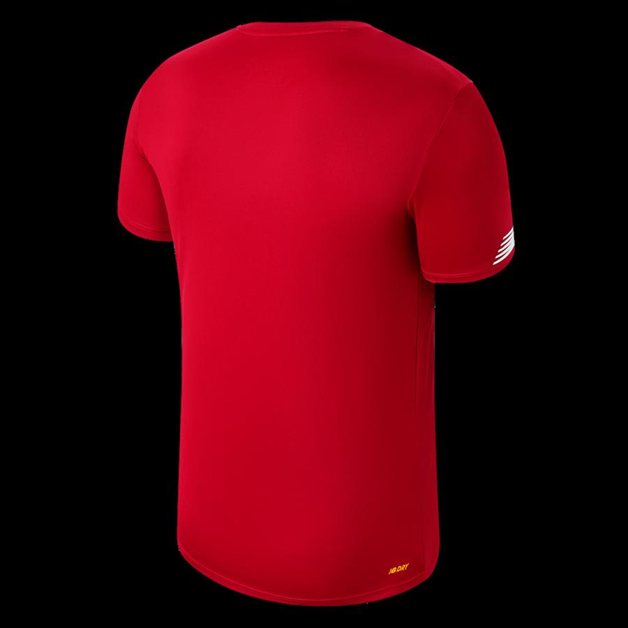 New Balance Liverpool FC Aufwärmtrikot rot/weiß Bild 3