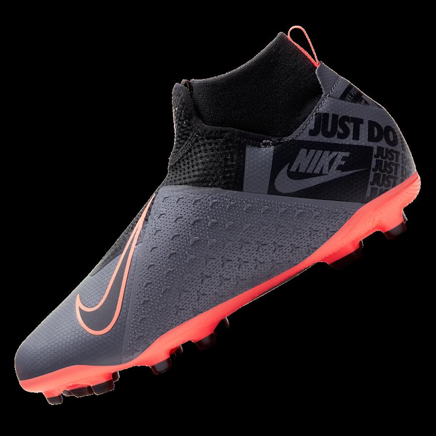 Nike Kinder Fußballschuh Phantom III Vision JR Academy DynamicFit FG/MG dunkelgrau/orange Bild 3
