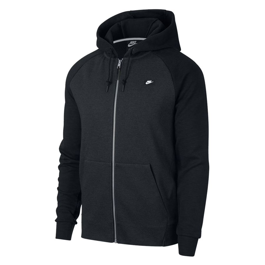 Nike Freizeitjacke Sportswear Optic Fleece schwarz