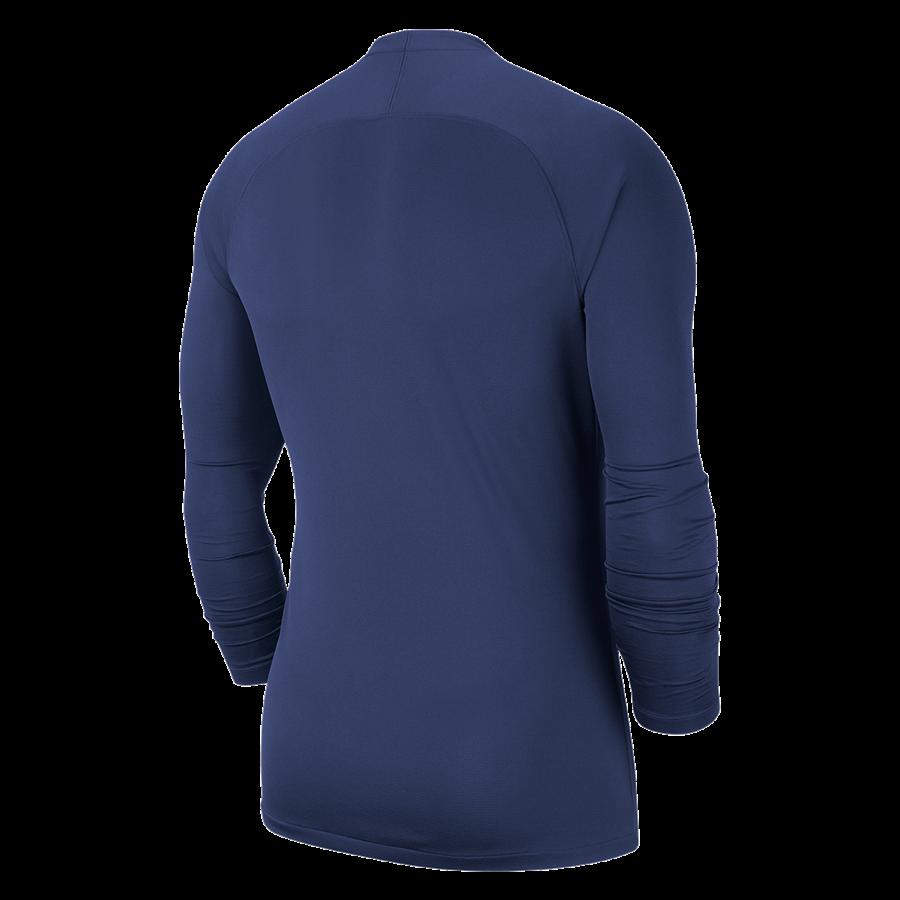 Nike Langarm Funktionsshirt Park First Layer dunkelblau/weiß Bild 3