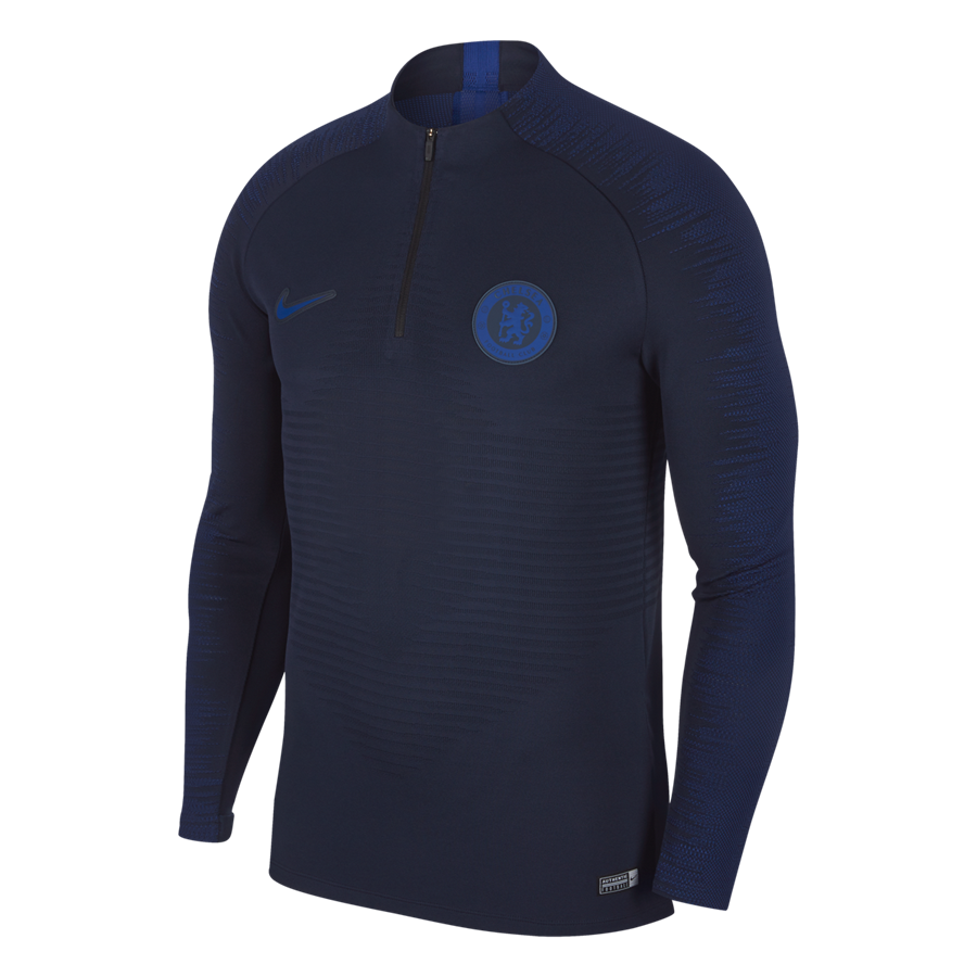 Nike Chelsea FC Trainingsoberteil Strike Drill Top dunkelblau/blau