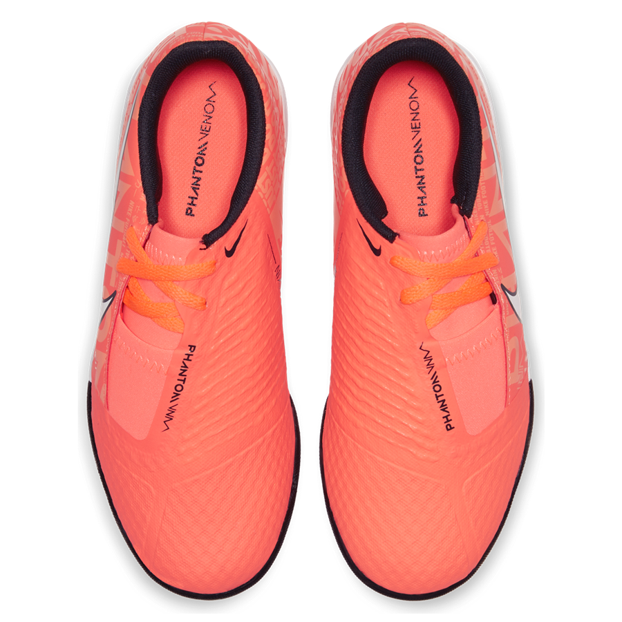 Nike Kinder Hallenschuh Phantom Venom JR Academy IC orange/weiß Bild 4