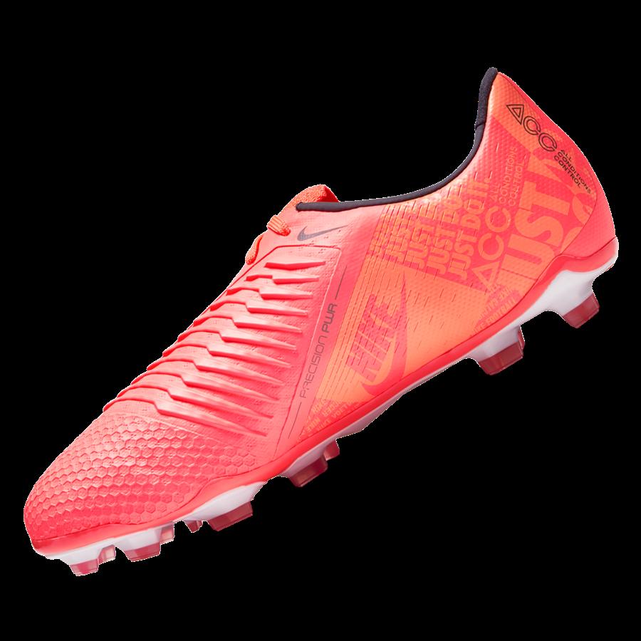 Nike Kinder Fußballschuh Phantom Venom JR Elite FG orange/weiß Bild 3