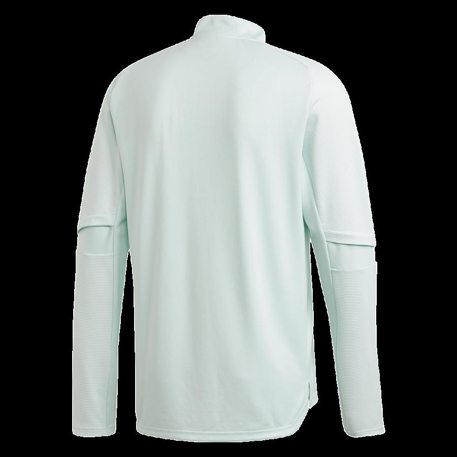 adidas Spanien Langarm Trainingsoberteil mintgrün/dunkelblau Bild 3