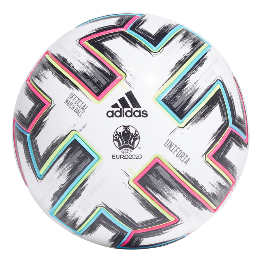 adidas Fußball Euro 2020 Uniforia Pro OMB weiß/hellblau Bild 2