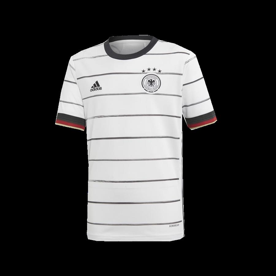 adidas Deutschland Kinder Heim Trikot EM 2020 weiß/schwarz Bild 2