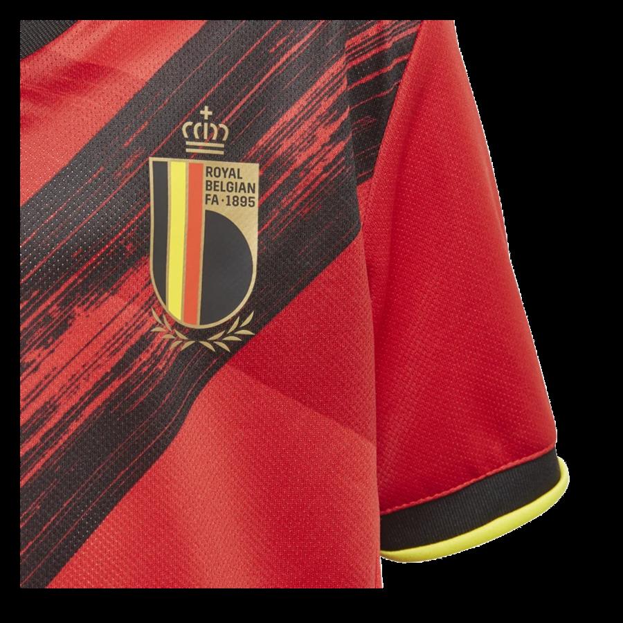 adidas Belgien Kleinkinder Heim Kit EM 2020 rot/gelb Bild 7