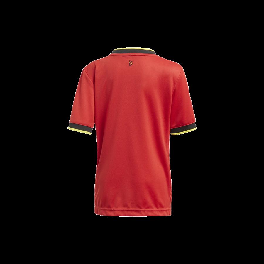 adidas Belgien Kleinkinder Heim Kit EM 2020 rot/gelb Bild 5