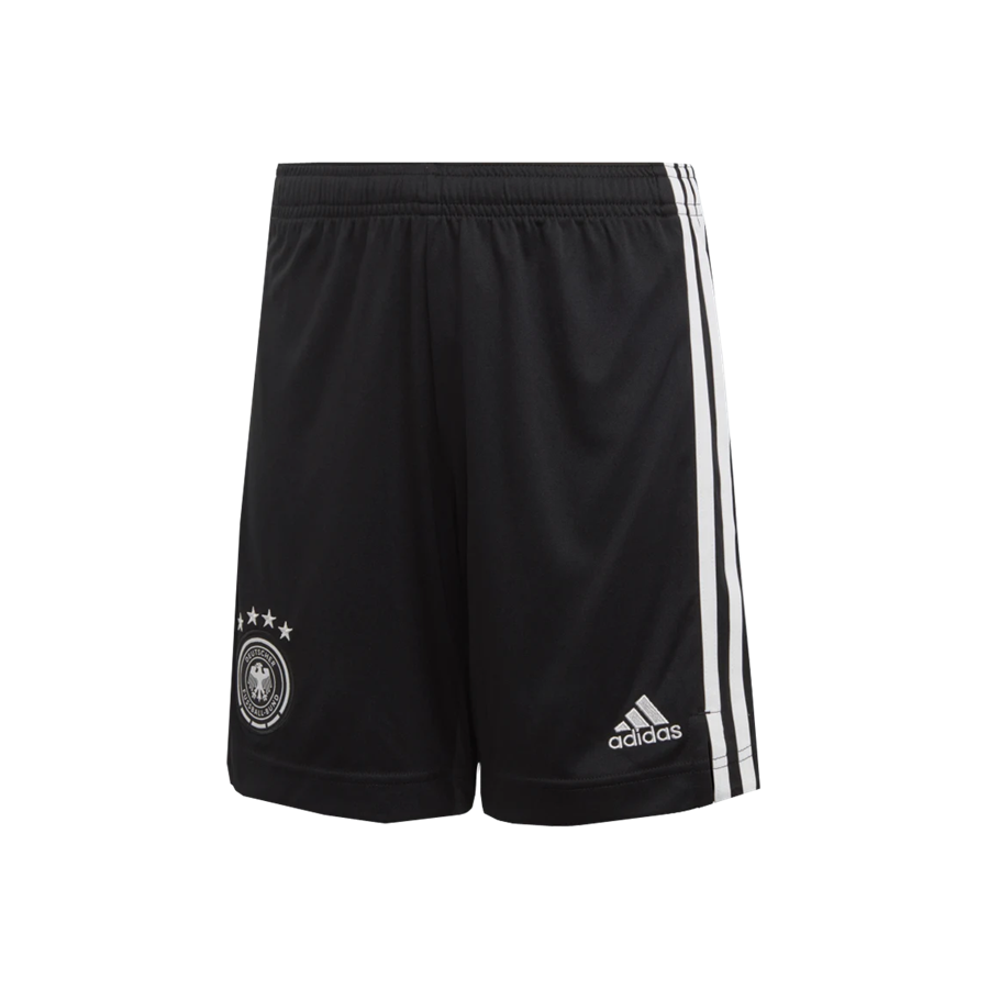 adidas Deutschland Kinder Heim Short EM 2020 schwarz/weiß Bild 2