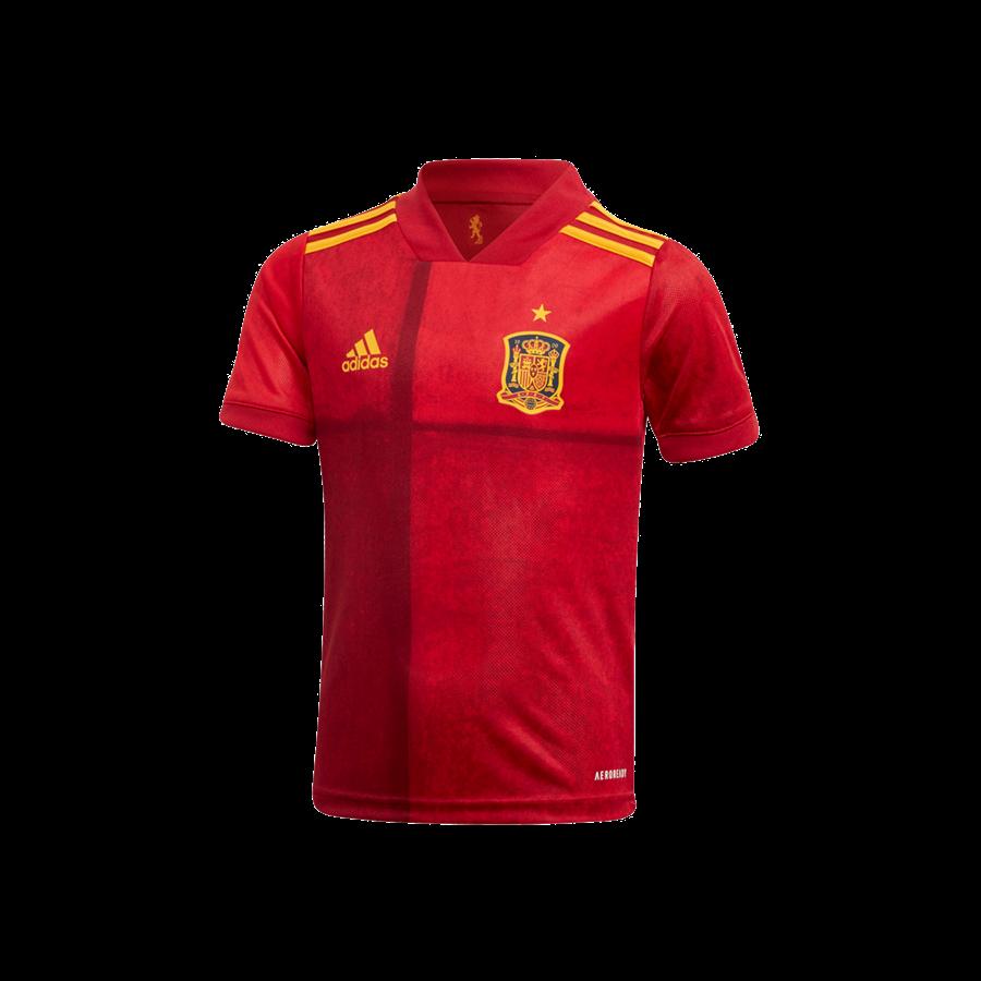 adidas Spanien Kleinkinder Heim Kit EM 2020 rot/orange Bild 3