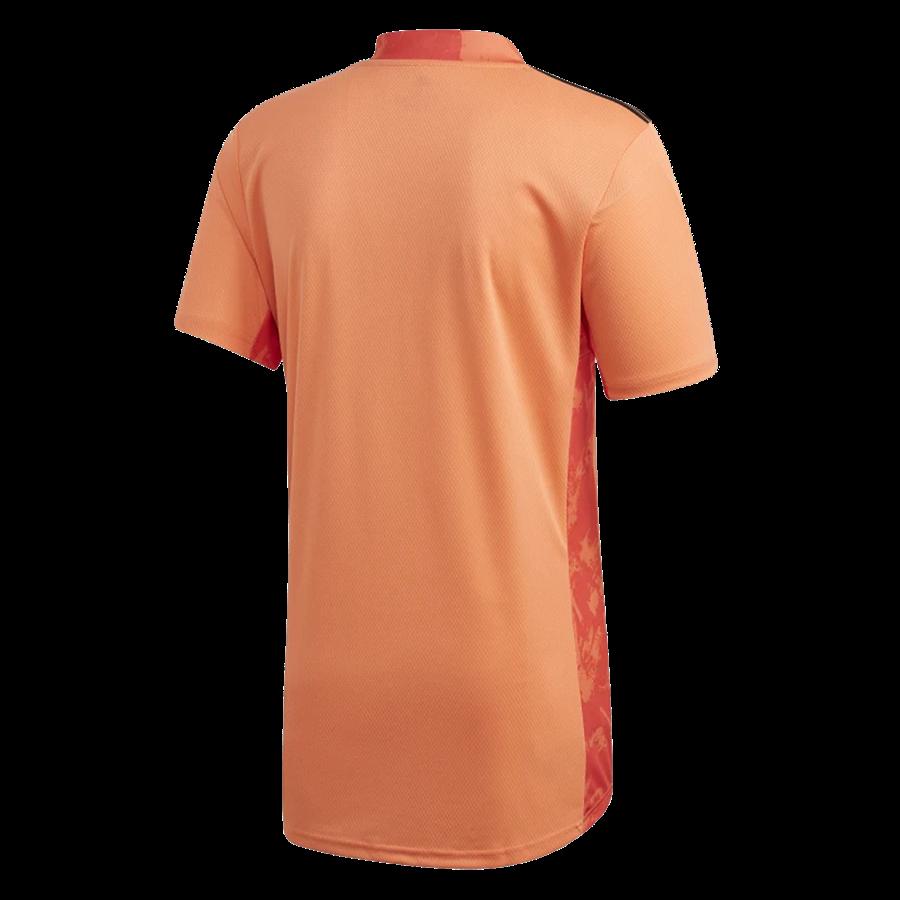 adidas Spanien Herren Torwart Trikot 2019/20 orange/schwarz Bild 3