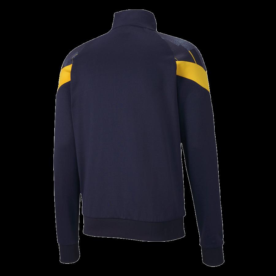 Puma Fanjacke New York Influence Track Jacket dunkelblau/gelb Bild 3