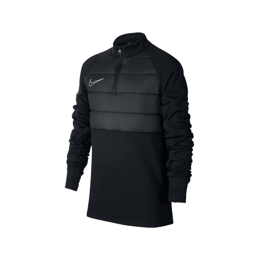 Nike Kinder Trainingsoberteil Academy Winter Warrior Drill Top schwarz/silber Bild 2