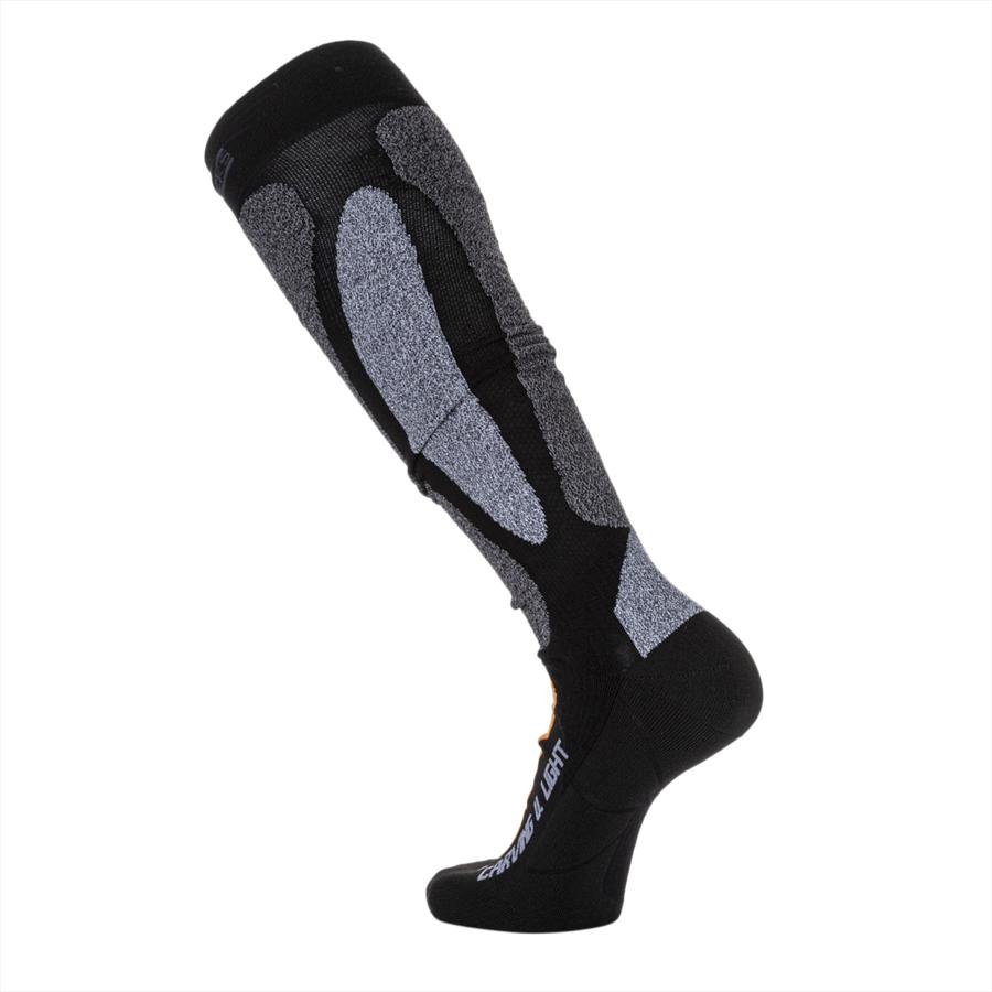 X-Bionic Stutzen X-Socks Ski Carving Ultralight schwarz/orange Bild 3