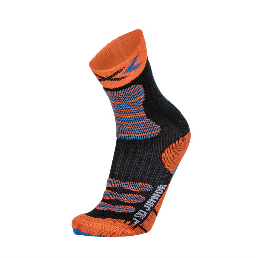 X-Bionic Kinder Stutzen X-Socks Ski Jr orange/türkis Bild 2