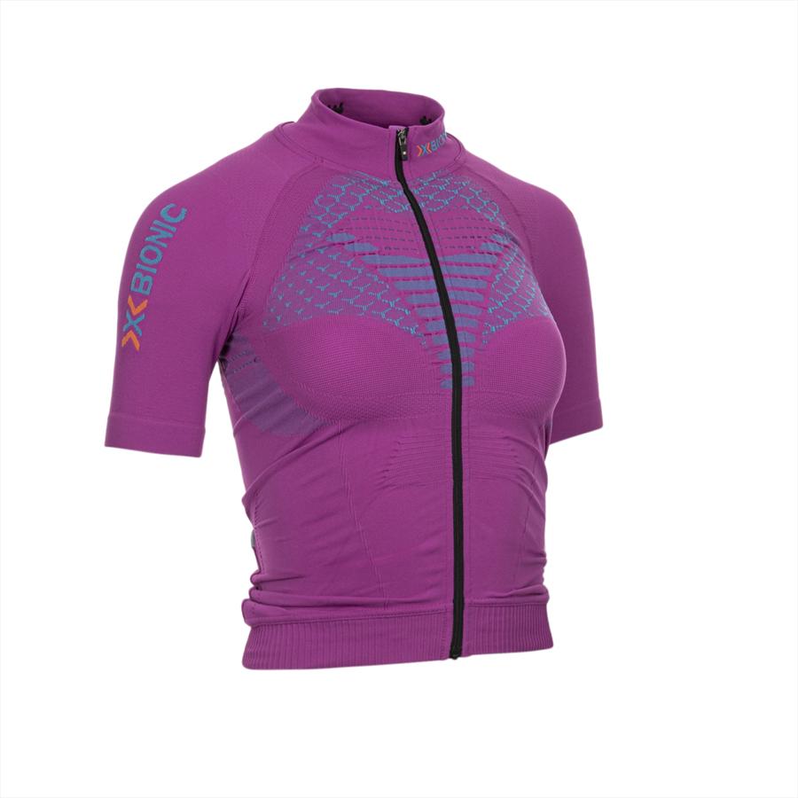 X-Bionic Damen Funktionsshirt Biking Twyce OW pink/türkis Bild 2