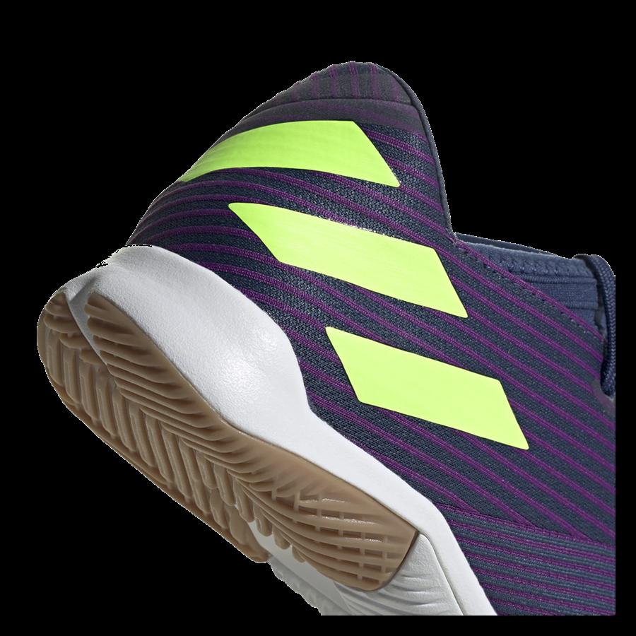 adidas Hallenschuh Nemeziz Messi 19.3 IN dunkelblau/grün fluo Bild 8