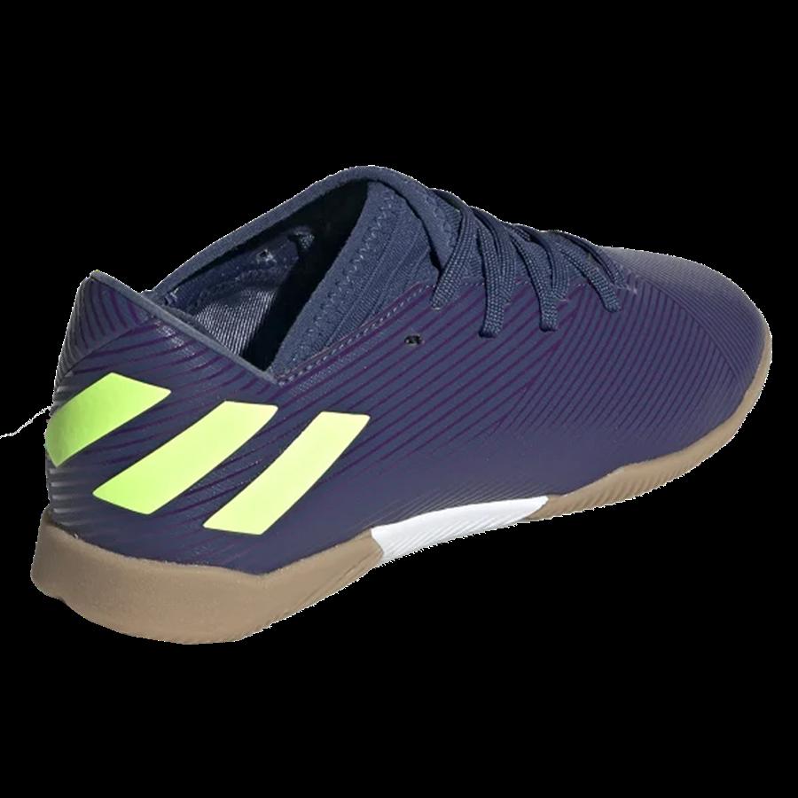 adidas Kinder Hallenschuh Nemeziz Messi 19.3 IN J dunkelblau/grün fluo Bild 9