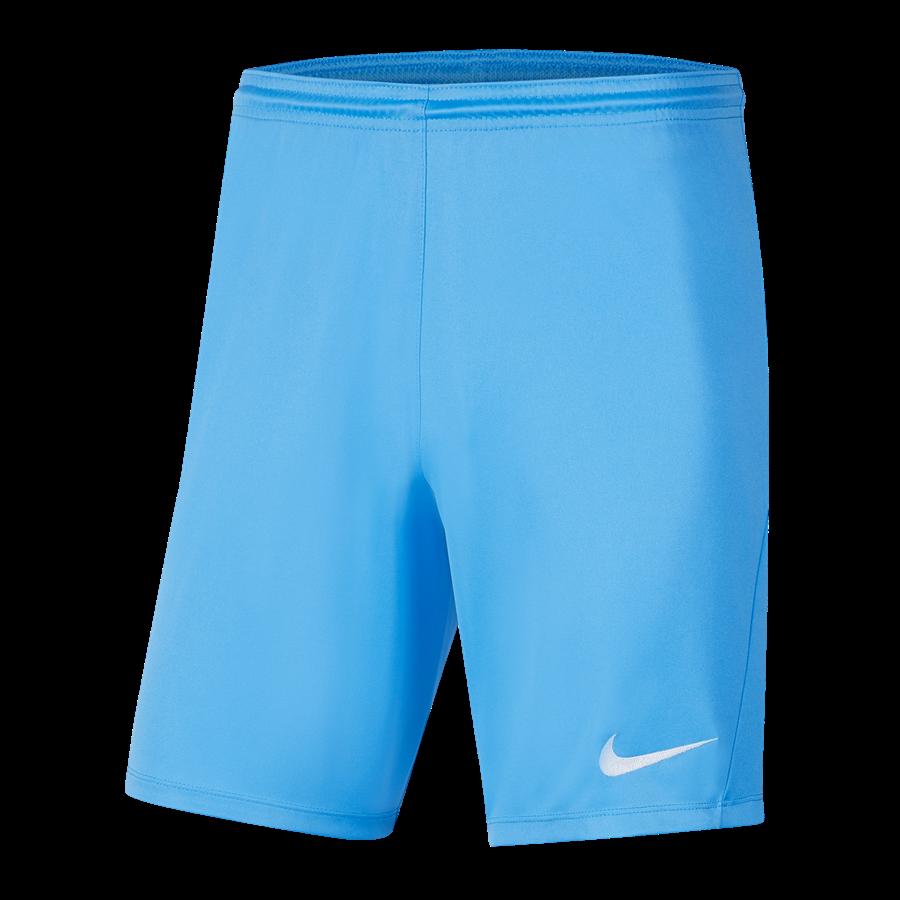 Nike Short Park III ohne Innenslip hellblau/weiß Bild 2