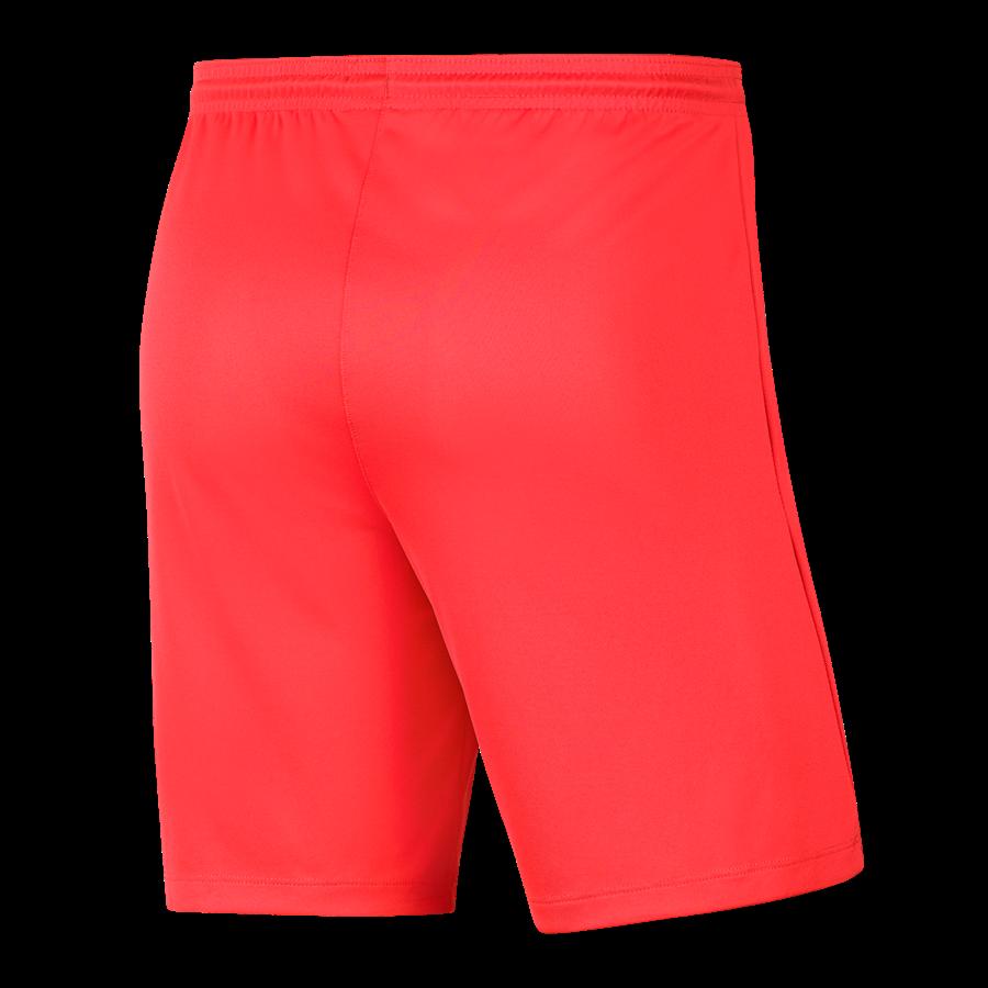 Nike Short Park III ohne Innenslip hellrot/schwarz Bild 3