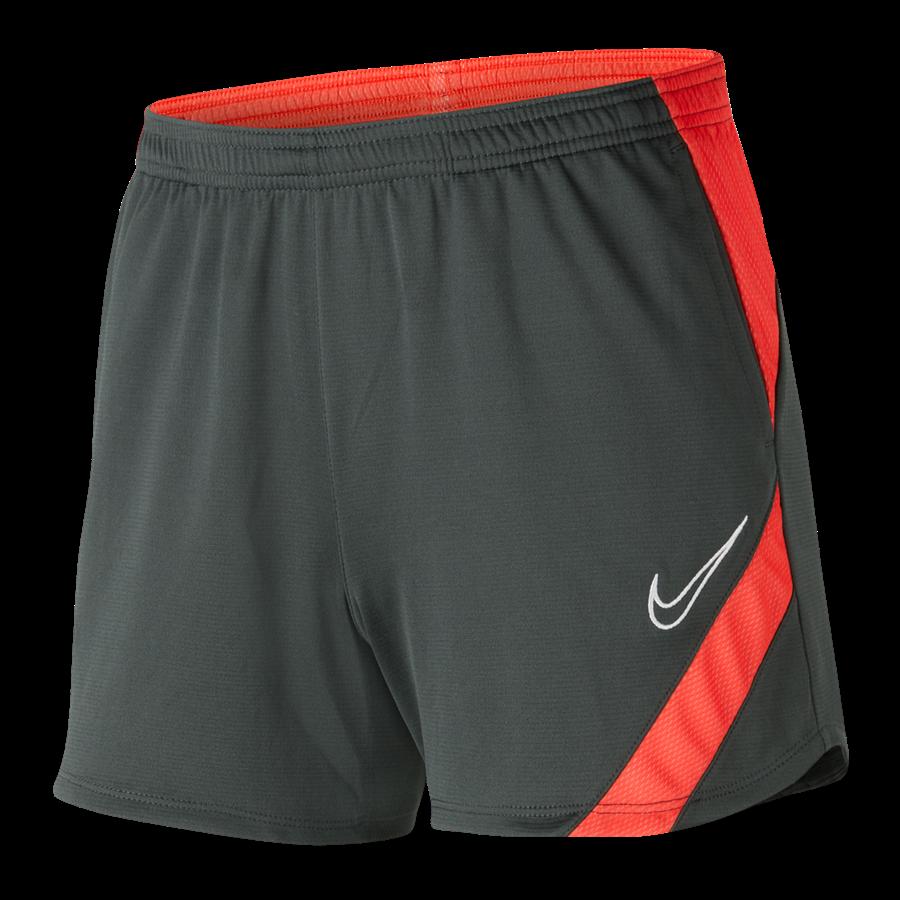 Nike Damen Short Academy Pro anthrazit/hellrot Bild 2