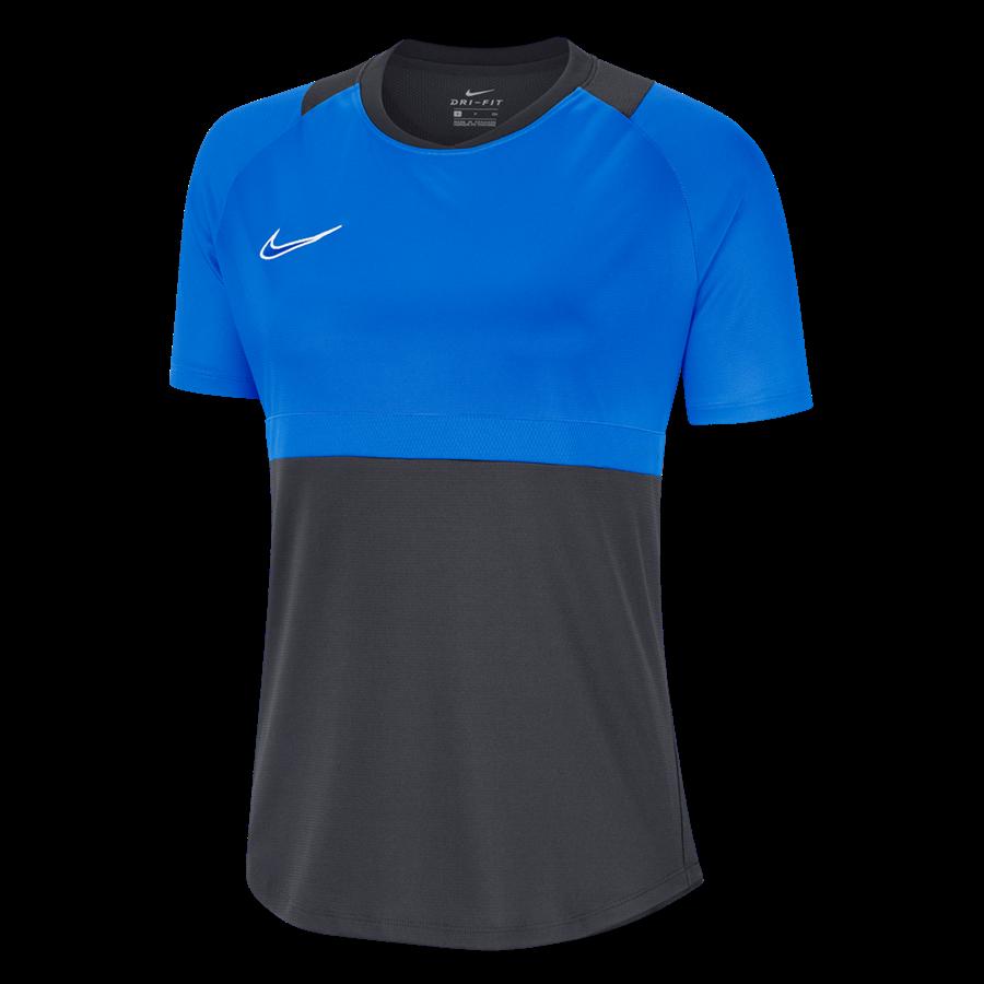 Nike Damen Trainingsshirt Academy Pro Top anthrazit/blau Bild 2