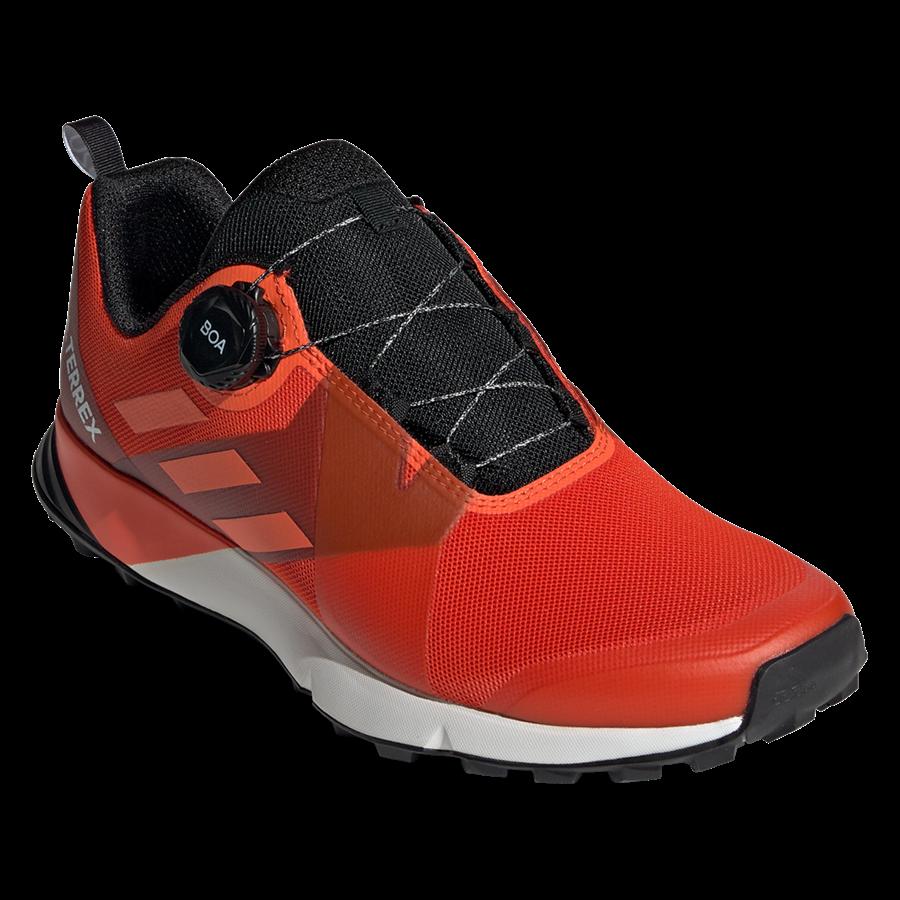 adidas Schuh Terrex Two Boa orange/dunkelrot Bild 9