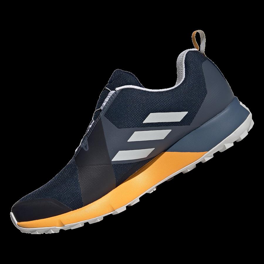 adidas Schuh Terrex Two Boa GTX dunkelblau/gelb Bild 3
