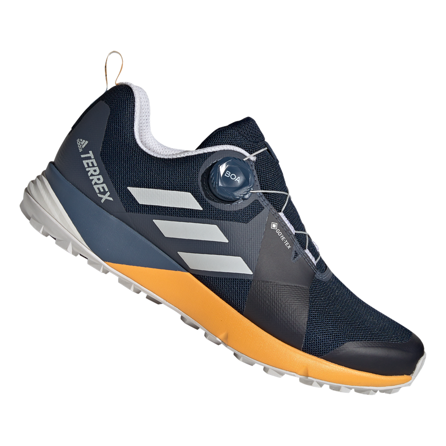 adidas schoenen Terrex Two Boa GTX donkerblauwgeel