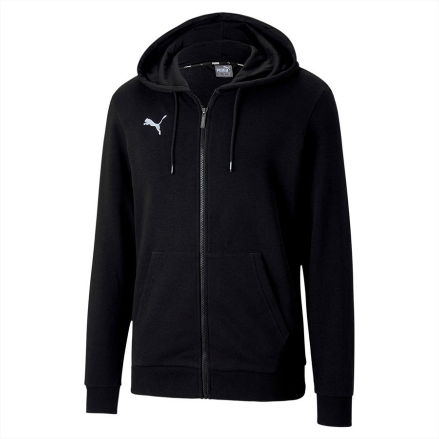 Puma Kapuzenjacke Team Goal 23 Casuals Hooded Jacket schwarz Bild 2