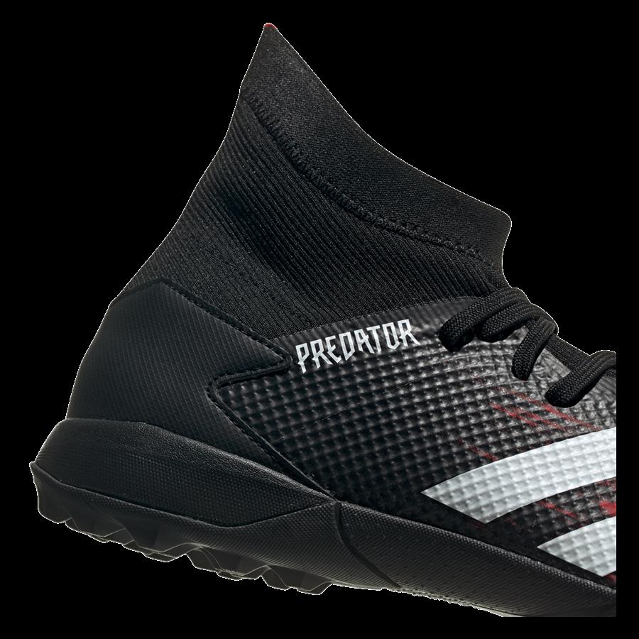 adidas Fußballschuh Predator 20.3 TF Kunstrasen schwarz/rot Bild 8