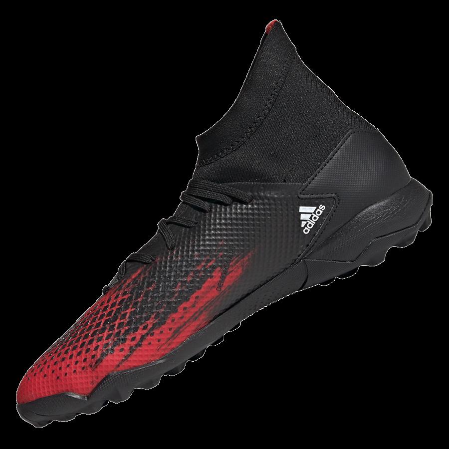 adidas Fußballschuh Predator 20.3 TF Kunstrasen schwarz/rot Bild 3
