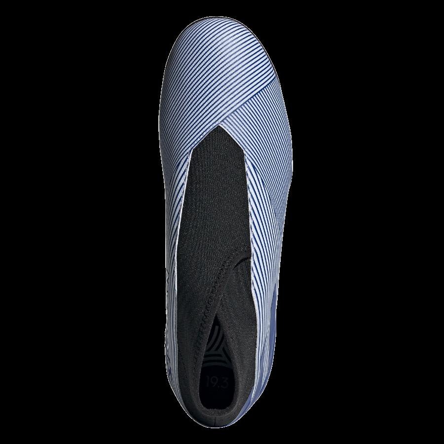 adidas Fußballschuh Nemeziz 19.3 LL TF Kunstrasen weiß/dunkelblau Bild 4