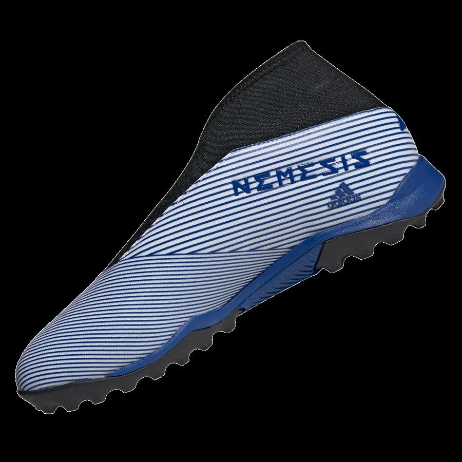 adidas Fußballschuh Nemeziz 19.3 LL TF Kunstrasen weiß/dunkelblau Bild 3