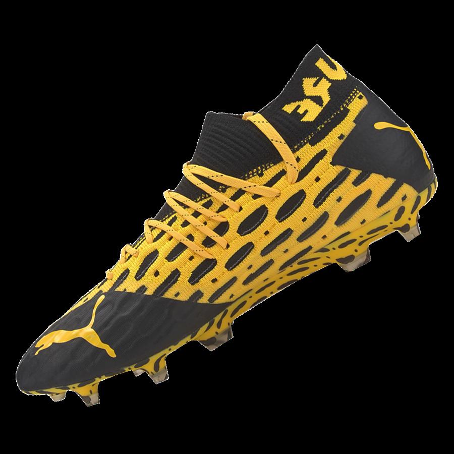 Puma Fußballschuh Future 5.1 Netfit FG/AG gelb/schwarz Bild 3
