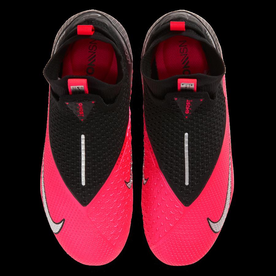 Nike Kinder Fußballschuh Phantom Vision II JR Elite Dynamic Fit FG/MG rot/schwarz Bild 4