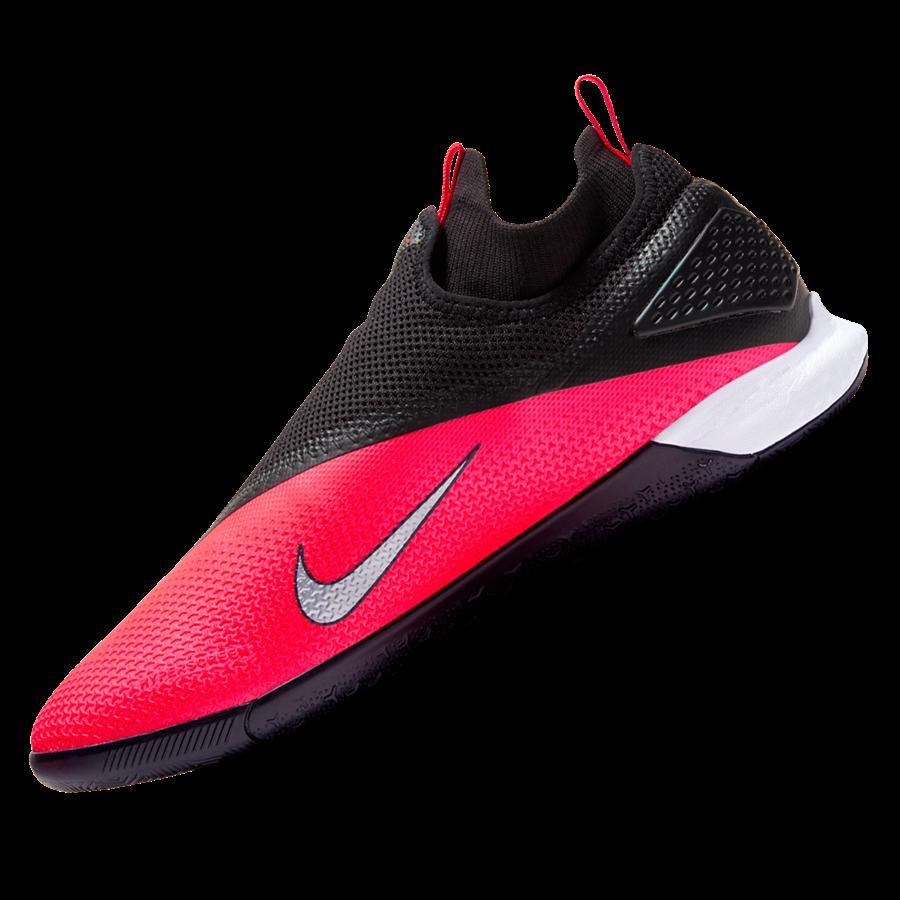 Nike Hallenschuh React Phantom Vision II Pro DynamicFit IC rot/schwarz Bild 3